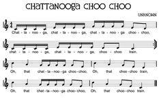 Chattanooga Choo Choo - Sixteenth Notes