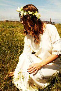 Hippie Vintage Wedding Dress - Viola