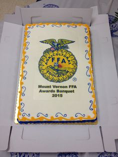 2015 Chapter FFA Banquet Cake!!! This has to be the coolest cake ever!
