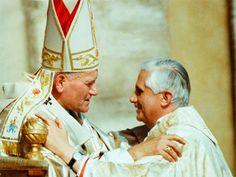 Benedicto XVI: Colaborando con Juan Pablo II tuve claro que fue un santo