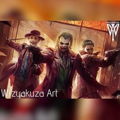 """United Daily on Instagram: """"The Jokers Art by The Great @WizYakuza Here's one for Team Villain..Heath Ledger's Joker leading a bank robbery!! #BadassLevelOver9000…"""" - http://devilzsmile.com/united-daily-on-instagram-the-jokers-art-by-the-great-wizyakuza-heres-one-for-team-villain-heath-ledgers-joker-leading-a-bank-robbery-badasslevelover9000/"""