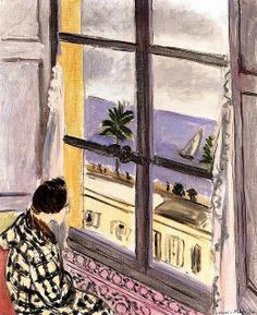 """Woman at the Window - Nice"" by Henri Matisse"