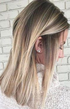 50 gorgeous balayage hair color ideas for blonde short straight hair # Styles & Hellip; - Hairstyles ideas women 50 gorgeous balayage hair color ideas for blonde short straight hair # . Brown Ombre Hair, Brown Blonde Hair, Platinum Blonde Hair, Ombre Hair Color, Brown Hair Colors, Blonde Color, Brown To Blonde Hair Before And After, Ashy Blonde, Medium Blonde