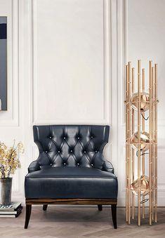 Modern Furniture design pieces at Maison et Objet Paris 2014 Contemporary Home Furniture, Contemporary Interior Design, Luxury Interior Design, Interior Design Inspiration, Design Ideas, Design Trends, Classic Interior, Design Furniture, Luxury Furniture