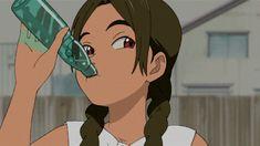The perfect summer drink. Black Cartoon Characters, Black Girl Cartoon, Cartoon Icons, Cartoon Art, Kawaii Anime Girl, Anime Art Girl, Instagram Cartoon, Otaku, Dope Cartoons