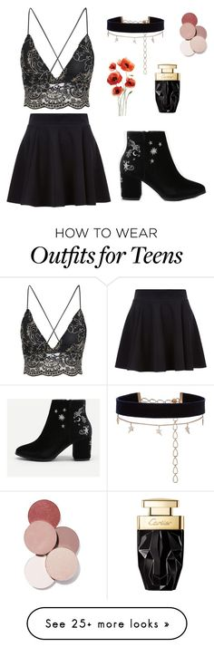"""""""Untitled #1680"""" by hodandahir on Polyvore featuring Diane Kordas and LunatiCK Cosmetic Labs"""