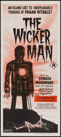 The Wicker Man movie poster                                                                                                                                                                                 More