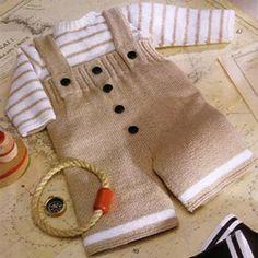 trajes de punto para niños