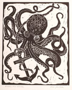 Octopus Tattoo Drawings Octopus tattoo concept art by Janny