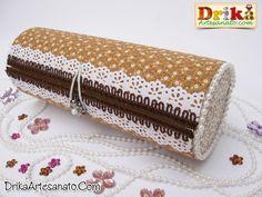 Lata de batata decorada - Artesanato com reciclagem