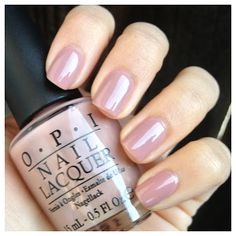 """Today's notd is for one of my all-time favorite polishes, OPI's """"Tickle My Franc. - Today's notd is for one of my all-time favorite polishes, OPI's """"Tickle My France-y. Nail Colors For Pale Skin, Opi Nail Colors, Neutral Nails, Cute Nails, Pretty Nails, Image Nails, Nails Today, Hair Skin Nails, Opi Nails"""