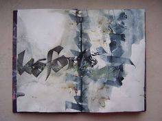 Élisabeth Couloigner. The drunken letters and colors: Book calligraphic studies