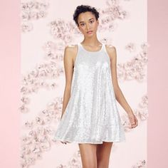 LC Lauren Conrad Runway Collection Sequin Swing Dress - Women's
