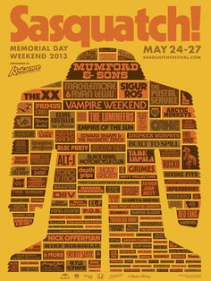 Sasquatch! Festival 2013  why did I miss this?!?!?!