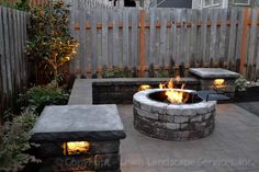 I want one of these gas stone fire pits in my outdoor living area