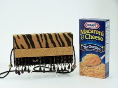 How to Recycle Macaroni & Cheese Boxes & Make a Pocket Book