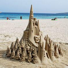 Sand Castle, Mallorca, Spain