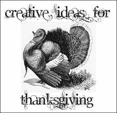 Creative Ideas For Thanksgiving