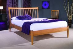 Aquarius Wooden Bed by limelight