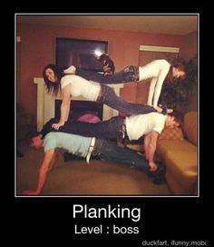 Planking Level: Boss
