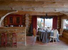 Интерьер деревянного дома своими руками