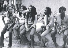 BOB MARLEY in Kingston, '79, with JACOB MILLER, I JAH MAN and JUNIOR MARVIN...