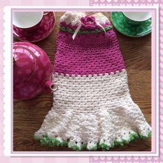Crochet dachshund dog coat