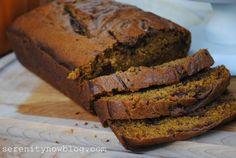 Serenity Now: Nutella Pumpkin Cheesecake Bread Recipe