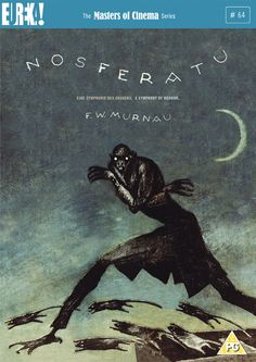Nosferatu (F.W. Murnau, 1921), Murnau's German expressionist horror almost defines the genre. Unofficially adapting Bram Stoker, it features a quite eerie central performance by Max Schreck as the title character. Find this at 791.43743 NOS