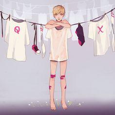 "kelpls: ""laundry day """