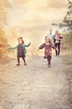 beautiful family photo, candid photo