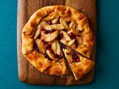 Flat Apple-Cranberry Pie Recipe | Ree Drummond | Food Network