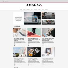 Amagaz - News and Magazine WordPress Theme