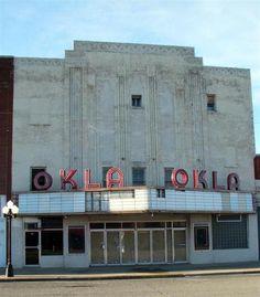 OKLA Theater, McAlester, Oklahoma.