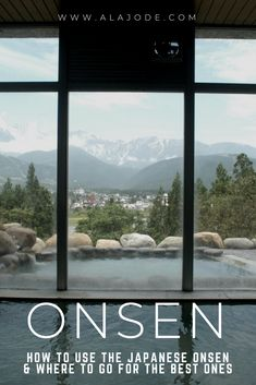 How to onsen: Visiti