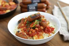 One Pot Meals, Main Meals, Couscous Royal, Great Vegan Recipes, Couscous Recipes, Supper Recipes, Easy Cooking, Food And Drink, Lunch