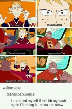 I loved Kim Possible, it was such a great show Old Disney, Disney Magic, Disney Channel, Disney And Dreamworks, Disney Pixar, Tumblr Funny, Funny Memes, Funny Cute, Hilarious