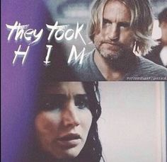 They took him. And he could be dead. He should be dead. But your the mocking jay. And the odds are never in our favor.