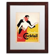 'Catalina Cocktail Club' by Anderson Design Group Framed Graphic Art