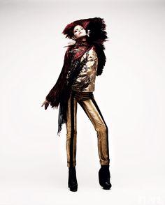 Rock of Ages - January 2012 / Fashion Director: Elizabeth Cabral / Art Director: Tanya Watt / Photographer: Chris Nicholls