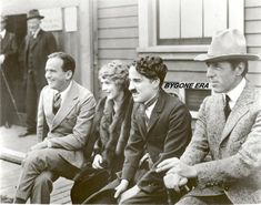 The founding members of United Artists: Hollywood greats Douglas Fairbanks Sr, Mary Pickford, Charlie Chaplin, and D. Charlie Chaplin, Martin Scorsese, Stanley Kubrick, Alfred Hitchcock, Silent Film Stars, Movie Stars, Vintage Hollywood, Classic Hollywood, Hollywood Icons