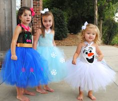 Frozen Inspired Tutu Dress Up Costume - Shoppe3130