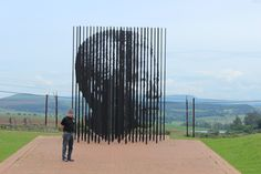 Remembering on his birthday. Here is a shot of Daniel Sugarman standing beside the Nelson Mandela memorial in the Apartheid Museum outside of Durban South Africa. Dan and I were visiting our daughter Flora Sugarman during her semester abroad. Apartheid Museum, Durban South Africa, Nelson Mandela, African History, Dan, Flora, The Outsiders, Daughter, Birthday