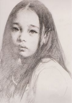 "艾軒 (Ai Xuan)""Portrait of a Tibetan Girl""."
