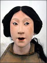 Lifelike.Antique Japanese Dolls - Iki Ningyo