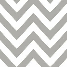 grey chevron- this is wallpaper but also avail in fabric!