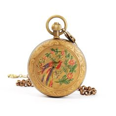 Yesurprise Vintage Retro Steampunk BirdRoman Bronze Pocket Watch Mechanical Hand-winding Gift Trendy #15 $121.94 (15% OFF)