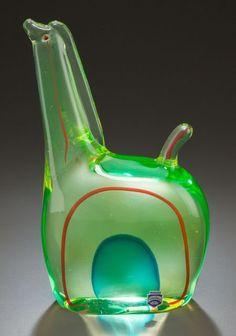 ANTONIO DAROS FOR CENEDESE MURANO GLASS FIGURE CIRCA 1960