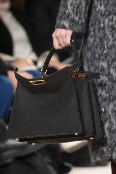Fendi at Milan Fashion Week Fall 2020 - Details Runway Photos Fashion Week, Fashion Bags, Milan Fashion, T Bag, Popular Handbags, Fendi Bags, Clutch Wallet, Me Too Shoes, Leather Bag