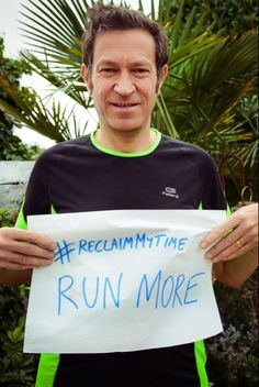 Lance would reclaim his time from cold calls, running. #ReclaimMyTime
